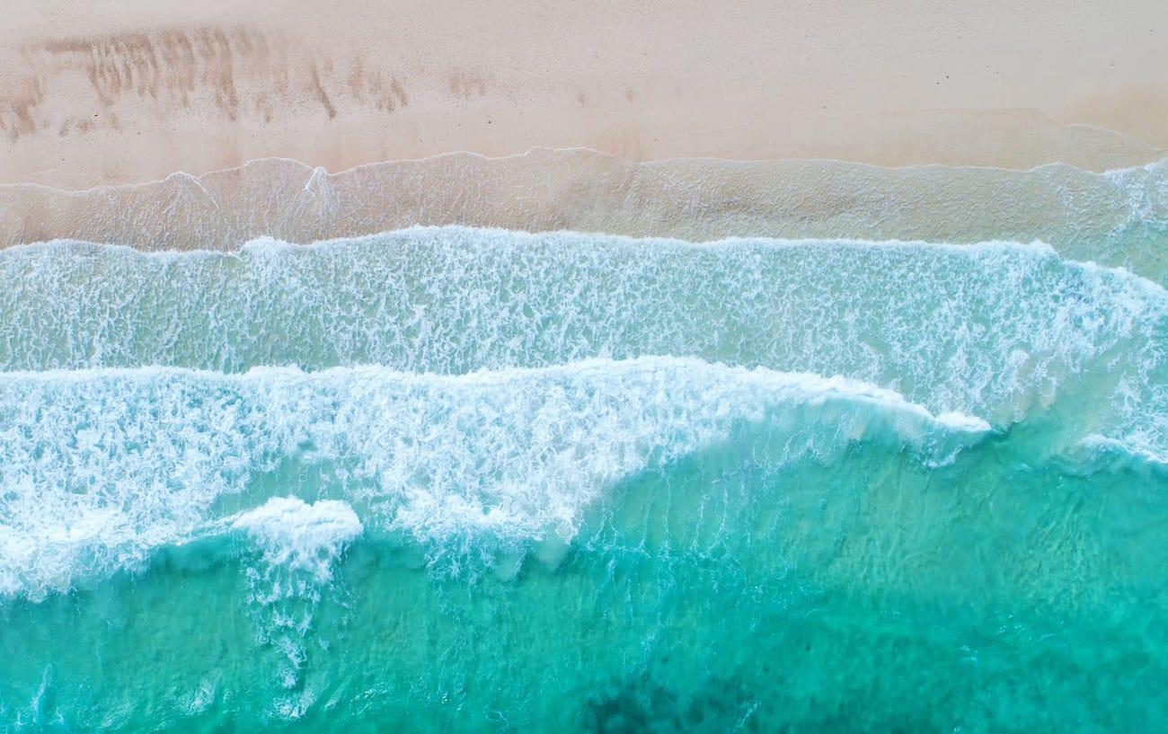 ocean-waves-beach-aerial-view - EventRent