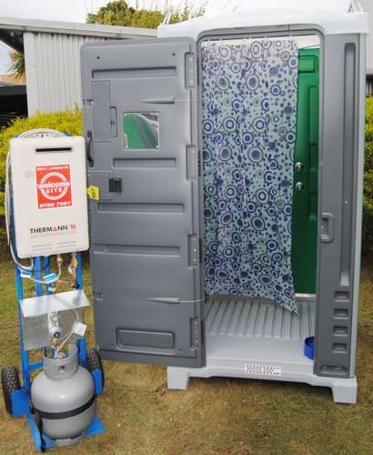 Rental Unit: Portable Showers And Shower Blocks
